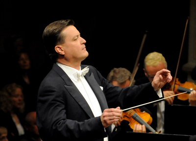 Christian Thielemann at work in Dresden in 2012