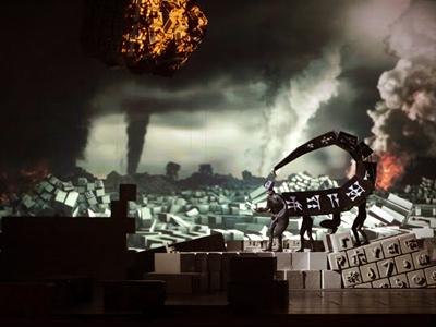 Jörg Widmann's opera Babylon