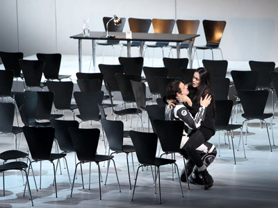 Stefano Secco and Kristine Opolais in Simon Boccanegra at Bavarian State Opera