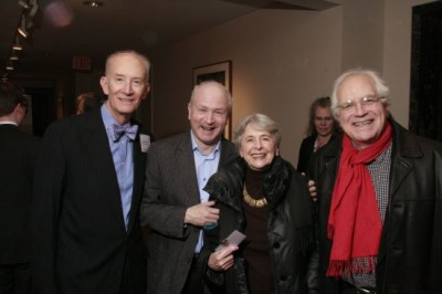 Sedgwick Clark, George Benjamin, Shirley Perle, Fred Sherry, cellist