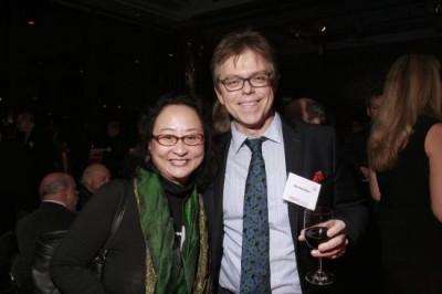 Joanna Lee, Norman Ryan, vice president, Schott/EAM