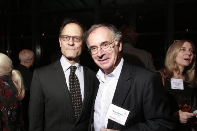 David Hyde-Pierce, Clive Gillinson, executive director, Carnegie Hall