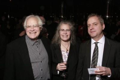 Fred Sherry, cellist, Carol Archer, Jeremy Denk