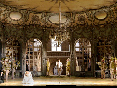 Otto Schenk's 1972 staging of Der Rosenkavalier for Bavarian State Opera