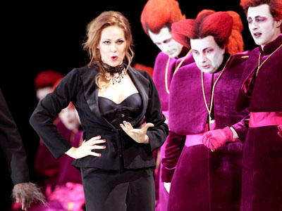 Kristine Opolais as Manon Lescaut at Bavarian State Opera in Munich