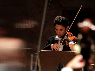 Bavarian State Orchestra first concertmaster David Schultheiß