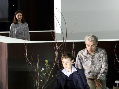 Elena Tsallagova, Hanno Eilers and Markus Eiche in Pelléas et Mélisande