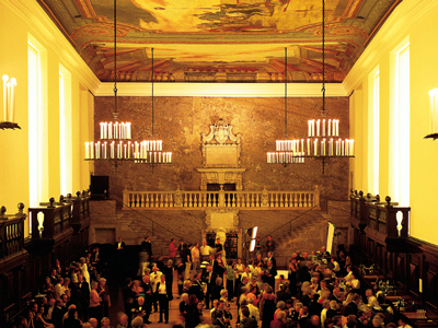 Karl-Böhm-Saal, a refreshment hall for Salzburg's Felsenreitschule and Haus für Mozart performance venues