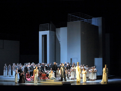 Bavarian State Opera revives its Aida with Krassimira Stoyanova and Jonas Kaufmann