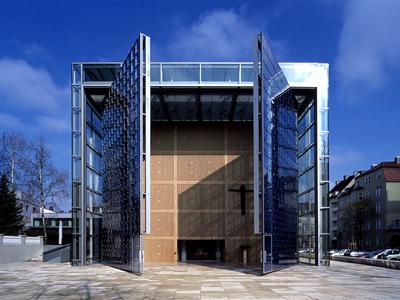 Doors of the Herz-Jesu-Kirche in Munich