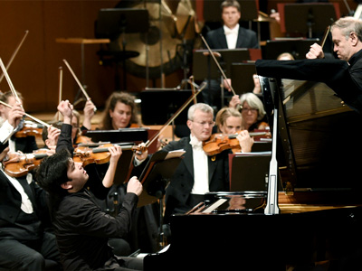 Behzod Abduraimov concludes Prokofiev's Third Piano Concerto with the Munich Philharmonic