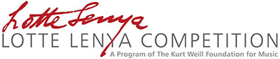 The Lotte Lenya Competition