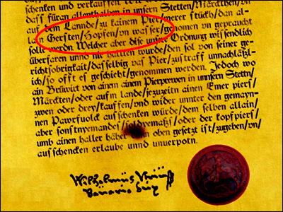 Reinheitsgebot of 1516