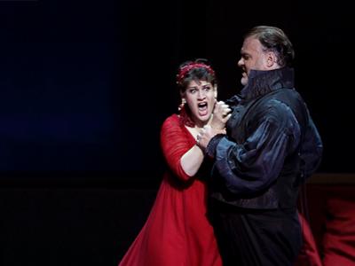 Anja Harteros and Bryn Terfel