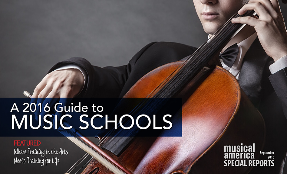 2016-17 Guide to Music Schools
