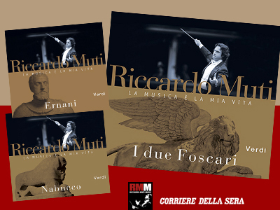 Verdi opera recordings from Rome conducted by Riccardo Muti
