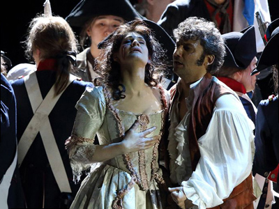 Anja Harteros and Jonas Kaufmann in Andrea Chénier in Munich