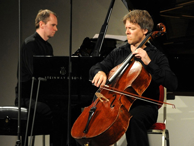 Cellist Alban Gerhardt and pianist Steven Osborne