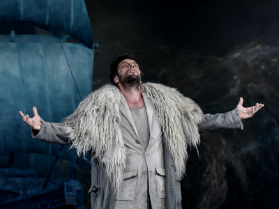 Hungarian bass Gábor Bretz sings the title role of Der fliegende Holländer at Oberammergau