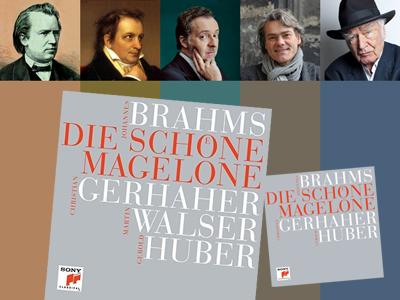 Brahms, Tieck, Gerhaher, Huber and Walser