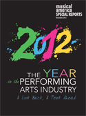 2012: The Year in the Performing Arts