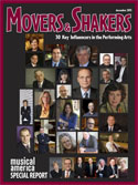 Movers & Shakers: 30 Key Influencers in the Performing Arts