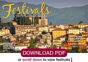 2015 Summer Festivals