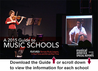 2014-15 Guide to Music Schools