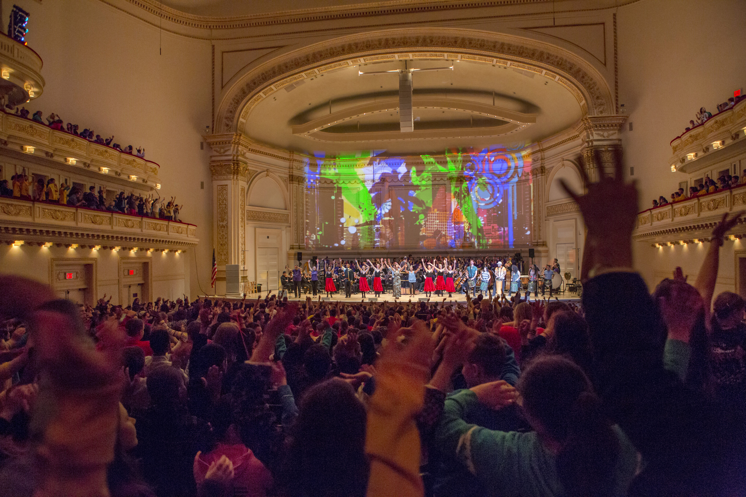 2017 Muscial America Shaping the Future of Education: Carnegie Hall at 125