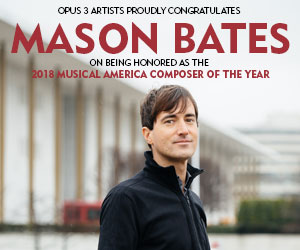 MusicalAmerica - Composer of the Year:<br>Mason Bates