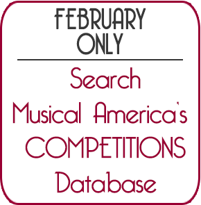 MusicalAmerica - 2019 Guide to Competitions